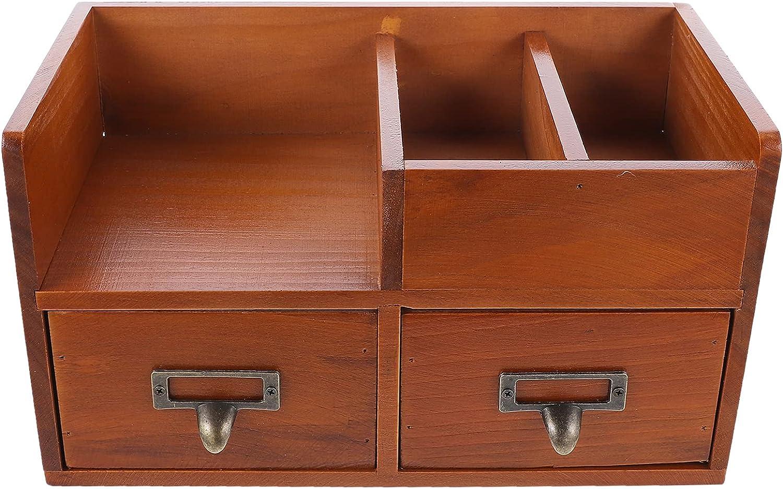 Lurrose Wooden Desktop Storage Organizer Or Vanity Drawer Limited Sale Special Price Beauty