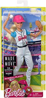 Barbie Made to Move Baseball Player Doll