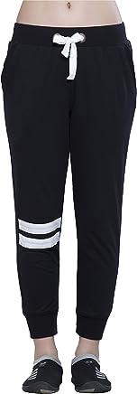 Alan Jones Solid Sports Trim Women's Track Pants