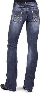 Women's 818 Contemporary X-Stitch Bootcut Jeans - 11-054-0818-0707 Bu