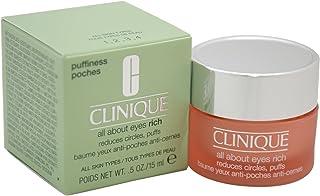 Clinique All About Eyes Rich Femme/Woman, reducerende circuits, Puffs, per stuk verpakt (1 x 15 ml)