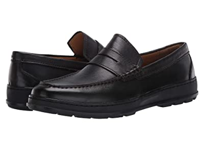 Cole Haan Hamlin Traveler Penny Loafer (Black) Men