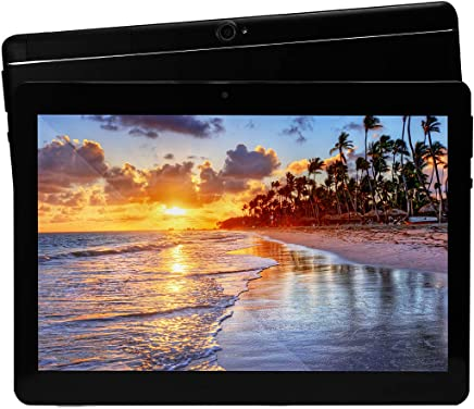 10 inch Tablet Android Octa Core Tablet with 4GB RAM 64GB ROM Tablet PC Built in WiFi and Camera GPS Two Sim Card Slots Unlocked 3G Phone Call Phablet (black) - Confronta prezzi