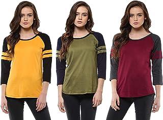 Veirdo Women's T-Shirt (Pack of 3)