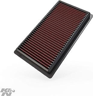K&N Engine Air Filter: High Performance, Premium, Washable, Replacement Filter: 2016-2020 Toyota/Jeep/Fiat (Corolla, Camry Hybrid, Avalon,C-HR, Corolla Hatchback, RAV4 Hybrid, Renegade, 500X), 33-3080