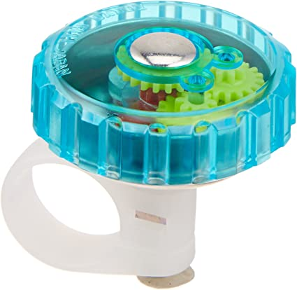 GREEN MIRRYCLE BICYCLE BIKE JELLIBELL JELLY BELL ROTATING FREE SHIPPING