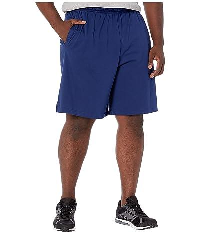 Nike Big Tall Training Shorts (Blue Void/Black) Men