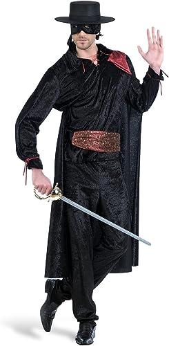 Elbenwald Costume voiturenival Hommes Avenger noir Knight Pantalon Shell Masque pour Les Yeux de la Ceinture de Cape de revêteHommest de voiturenaval pour intérieur et extérieur