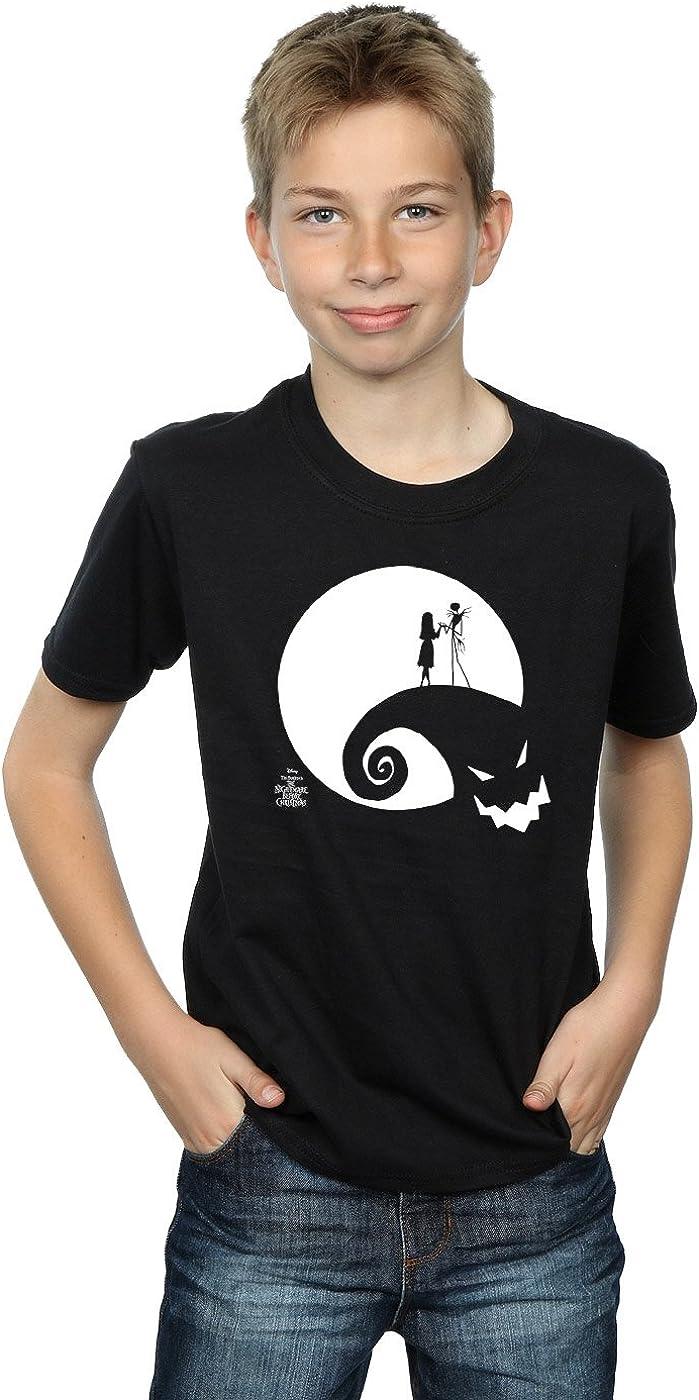 Disney Boys Nightmare Before Christmas Moon Oogie Boogie T-Shirt