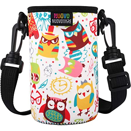 jianxiang Water Bottle Carrier for Camelbak Eddy Kids Water Bottle,Premium Neoprene Water Bottle Sleeve Holder,Compatible with Contigo,Simple Modern Kids Water Bottle 2.5-3 Bottom