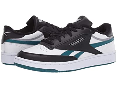 Reebok Lifestyle Club C Revenge Mu (White/Heritage Teal/Black) Men
