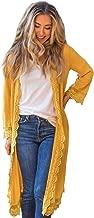 womens yellow cardigans