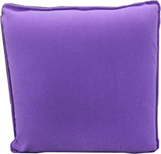 HealthmateForever HIGH QUALITY Pressure Activated vibrating pulsating Pillow Massager for FOOT, LEG, BACK,NECK Cordless, no controller needed. Battery Operated! Purple corduroy fabric comfort massage pillow Products. please check other 11 colors Shipping to USA ONlLY