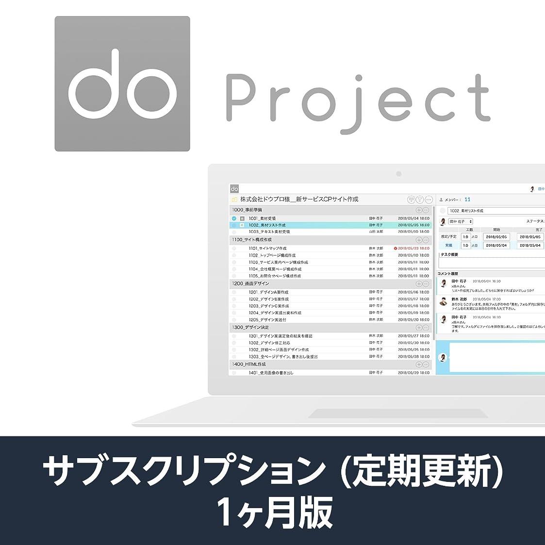 勝利なめらか支援するdo.pj (do project プロジェクト管理ツール)| 1か月プラン | サブスクリプション(定期更新)