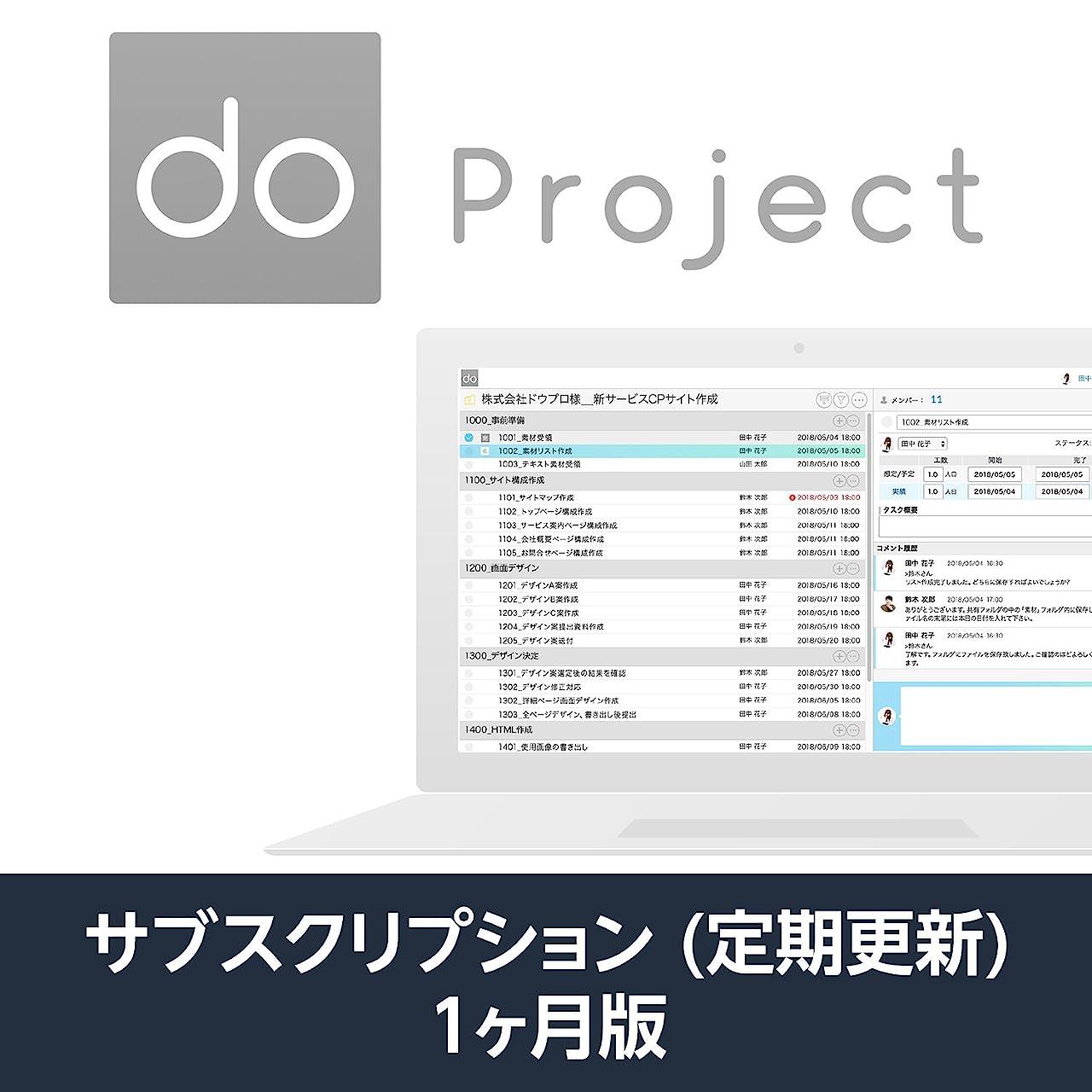池哲学者立方体do.pj (do project プロジェクト管理ツール)| 1か月プラン | サブスクリプション(定期更新)