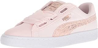PUMA Women's Basket Heart Canvas Wn Sneaker
