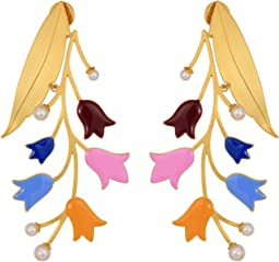 Bellflower Statement Earrings