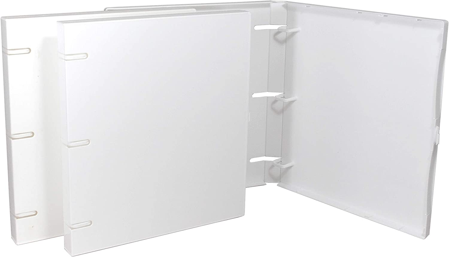UniKeep 3 shopping Excellent Ring Binder - White Inch Case W 1.0 Spine