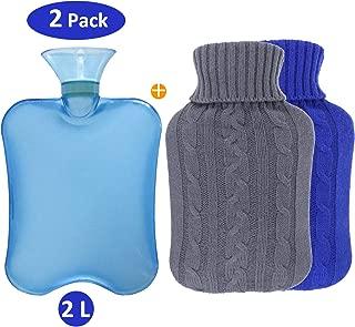 Omasi borsa dellacqua calda ecologica//peluche//grande//borsa acqua calda,Gomma Premium PVC di borsa per acqua calda 1.8 litri Per Crampi