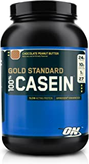 Optimum Nutrition 100% Gold Standard Casein Protein Chocolate Peanut Butter 2 lbs ?????
