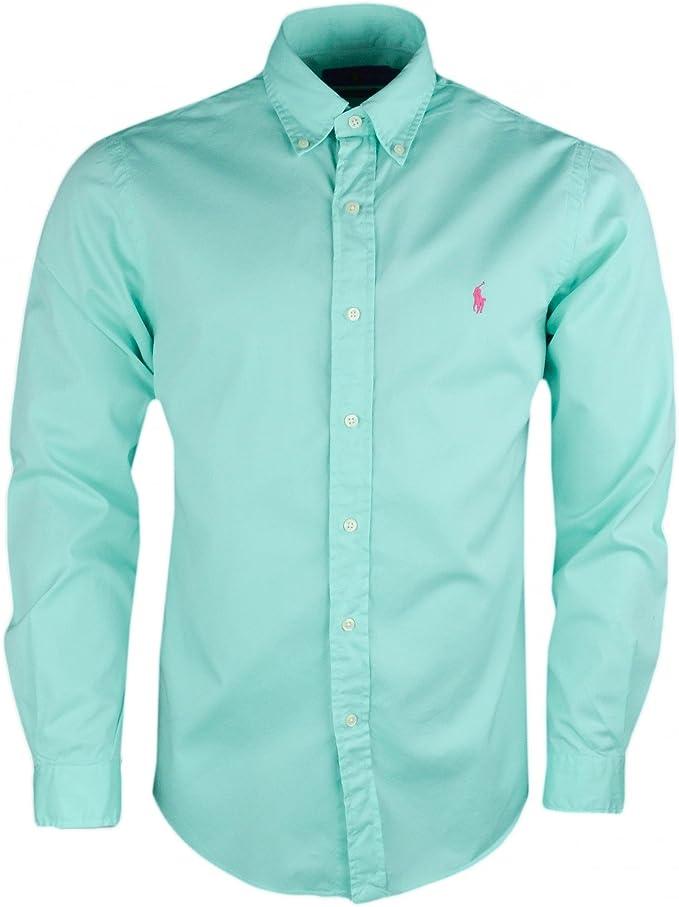 Ralph Lauren - Camisa casual - Blusa - para hombre verde L ...