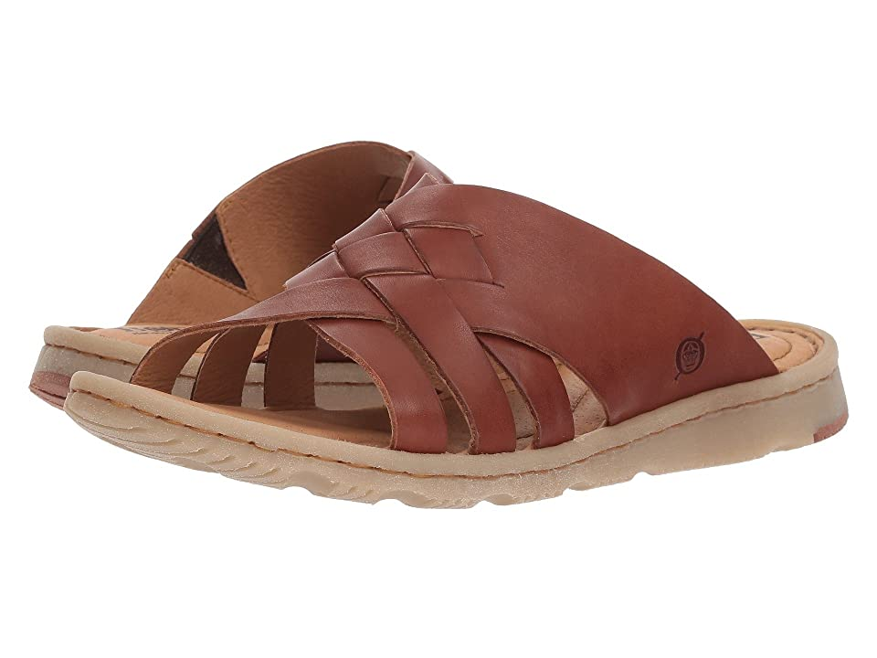 Born Tarpon (Red/Brown Full Grain Leather) Women