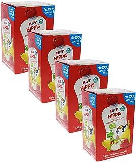 HiPP 喜宝 草莓香蕉苹果 - Ferdi 青蛙,4件装(4 x 100克)
