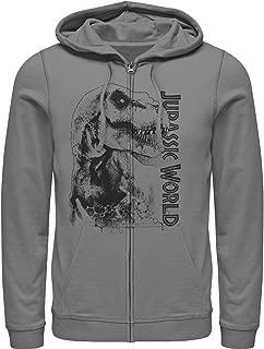 Jurassic World Men's T. Rex Carnivore Zip Up Hoodie