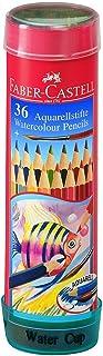 Faber-Castell Aquarellstifte Watercolour Pencils Set of 36 Colour, Multicolour, 2.2 lb