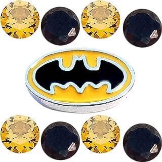Pow Bam Batman Superhero Charm Set for Floating Lockets Jewelry