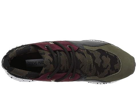 MultiSilver Cliff Steve Sneaker Madden Olive axpBAnYq