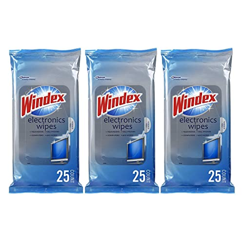 Windex Electronics Wipes, 25 ct