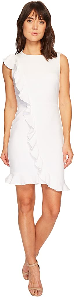 Nicole Miller - Ruffle Front Dress