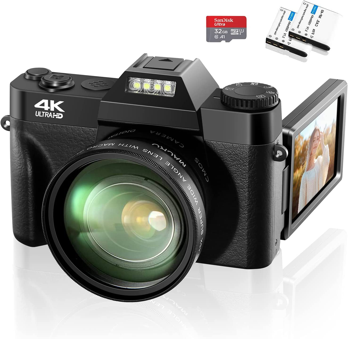 4K Digital Camera All stores are sold 48MP Video Zoom Ranking TOP14 for 16X