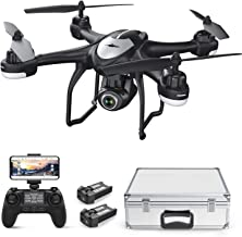 $145 Get Potensic T18 GPS Camera Drone, FPV RC Quadcopter with 1080P HD Camera Live Video, GPS Auto Return Home, Altitude Hold, Follow Me, 2 Batteries and Aluminum Carrying Case