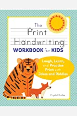 Print Handwriting Workbook for Kids: Laugh, Learn, and Practice Print with Jokes and Riddles Paperback