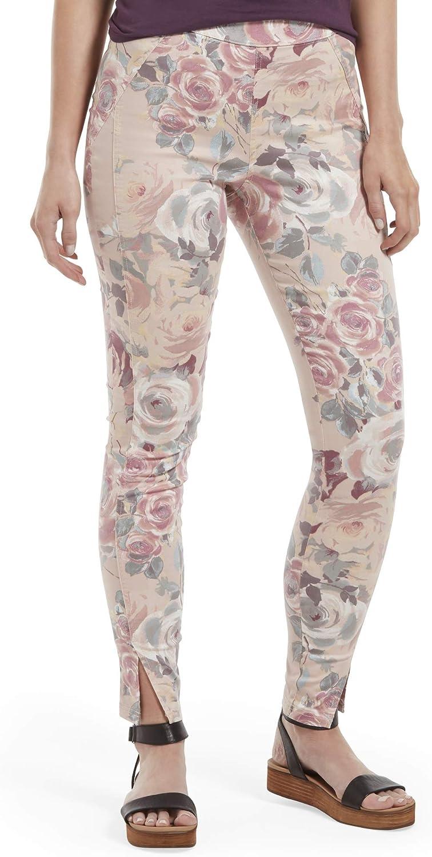 蔵 HUE Women's Sateen High Leggings 2020モデル Waist Skimmer