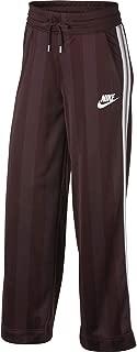 Nike Women's Sportswear Open Hem Shdw Strp Pants, Silver/White, X-Large (NKAR2295-233)