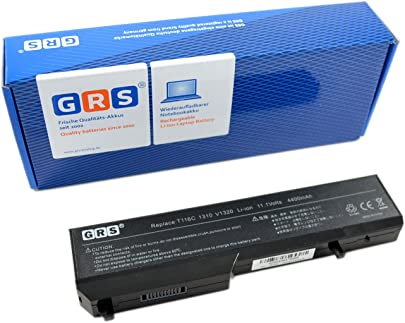 GRS Notebook Akku 312-0724 f r Dell Vostro 1310  ersetzt  K738H  T114C  Y022C  T112C  T116C  312-0724  Y024C  312-0725  N958C  N956C  Laptop Batterie 4400mAh  11 1V