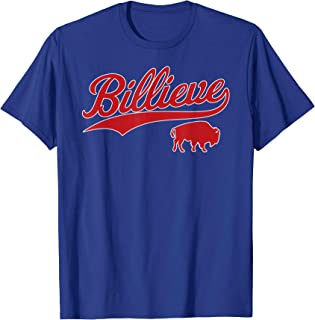 Billieve | Buffalo New York Bills Mafia Football Fan Gift T-Shirt