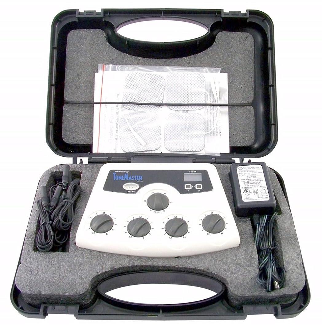 誘発する交換可能細胞【米国ソニックテクノロジー社開発】 ポータブルで屋外でも使えるEMS TM-2200 【正規ルート輸入品】