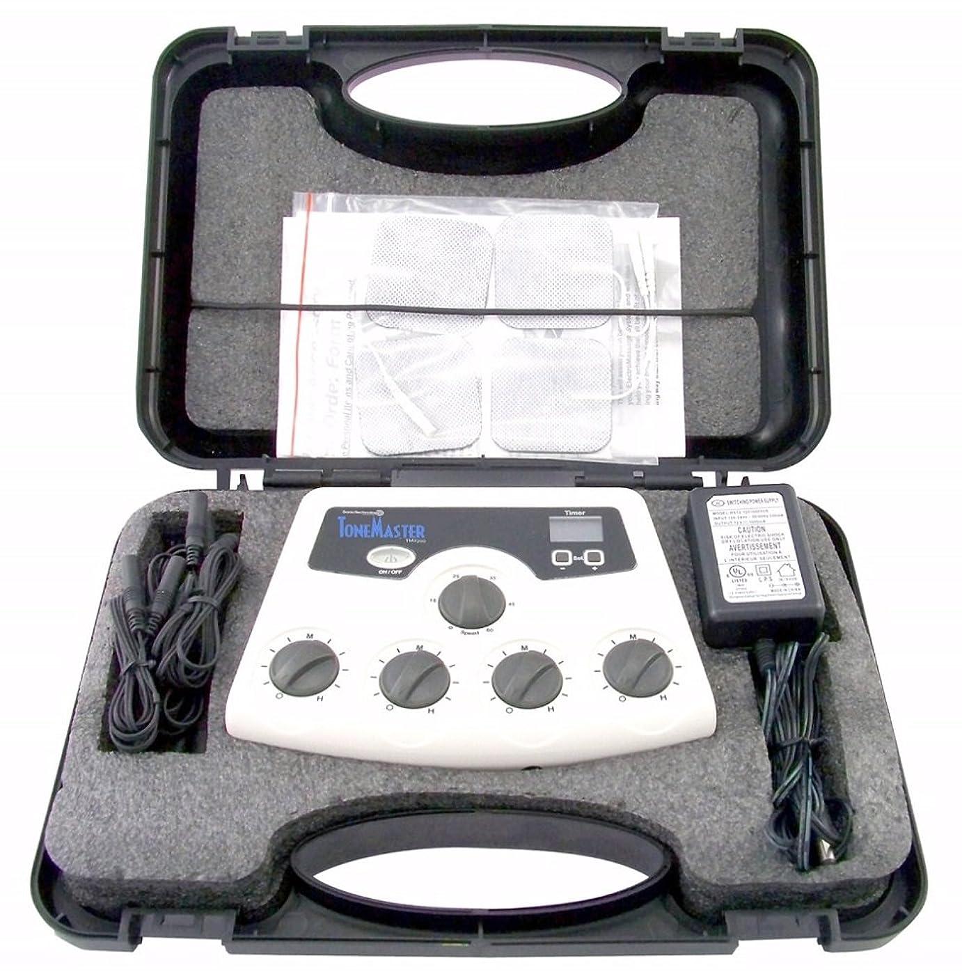 便益安息キリスト教【米国ソニックテクノロジー社開発】 ポータブルで屋外でも使えるEMS TM-2200 【正規ルート輸入品】