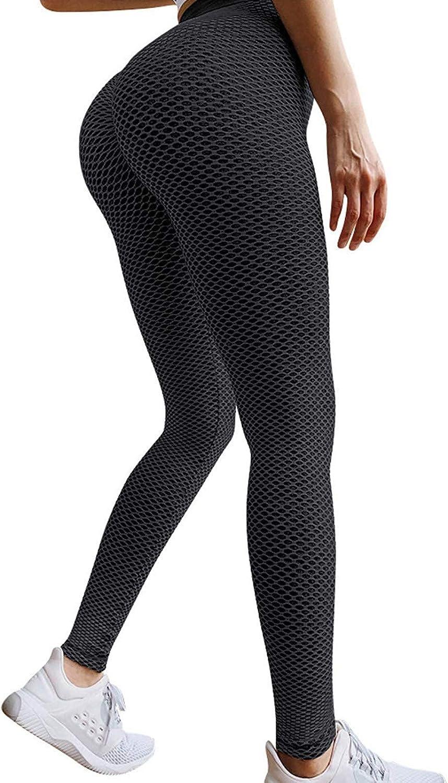 Famous TikTok Leggings,Yoga Pants for Women High Waist Elastic W