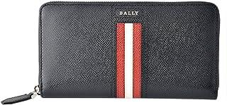 バリー BALLY TELEN.LT 10 6218049 バリーストライプ ラウンドファスナー 長財布 [並行輸入品]