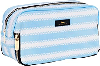 SCOUT 3-Way Bag, Water-Resistant Makeup Pouch and Toiletry Bag for Women, 3 Separate Zipper Compartments (Multiple Patterns Available)