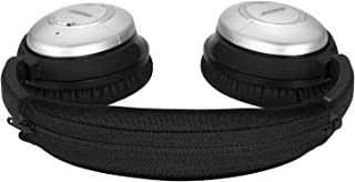 QC15 QC2 Headband Cover, JARMOR Replacement Head Band Protector with Zipper [ Easy Installation ] for Bose QuietComfort 15...