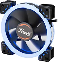 Rosewill RFA-BL1201 120mm Silent Dual Ring of Blue LED PWM Fan