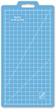 June Tailor 13-Inch-by-25-Inch Gridded with 11-Inch-by-23-Inch Grid Rotary Mat with Handle