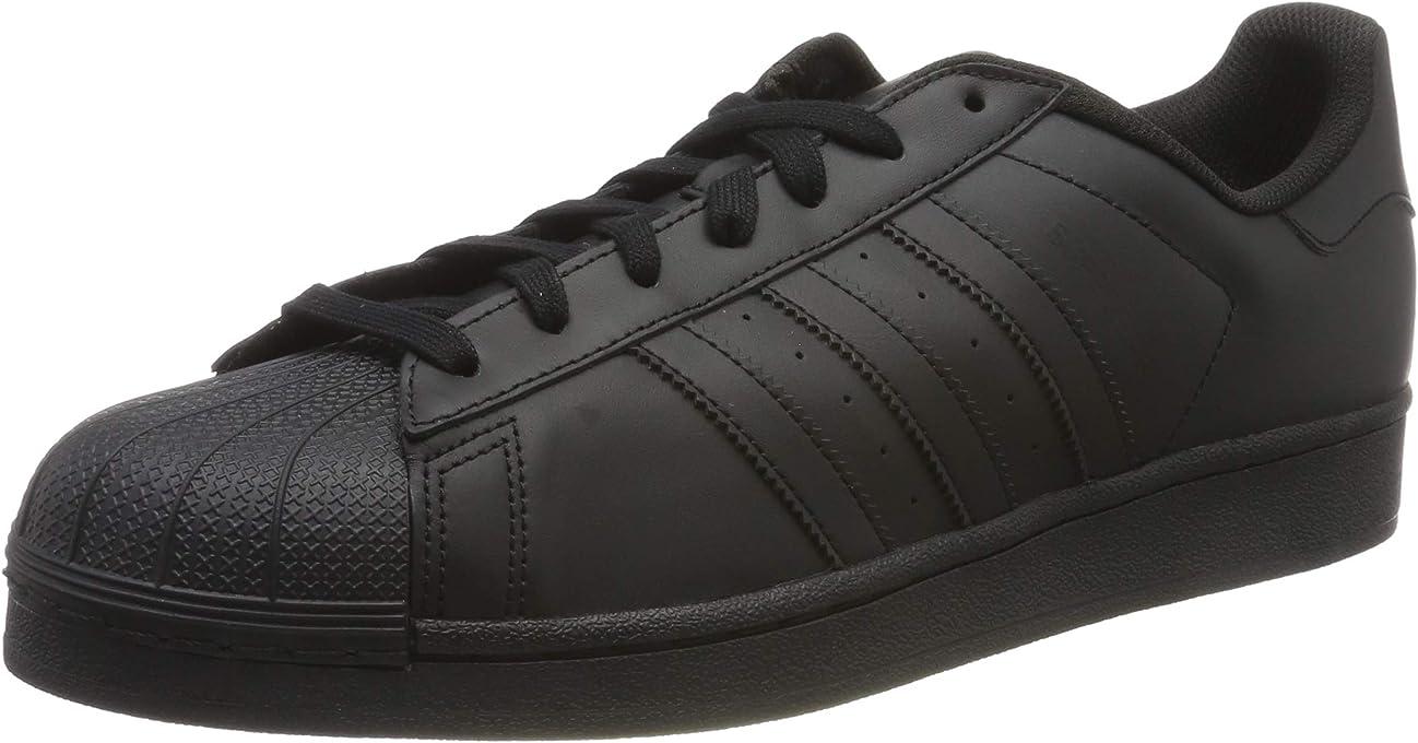 adidas Australia Men's Superstar Trainers, Core Black/Core Black/Core Black, 12 US