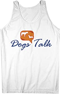 犬s Talk おかしいです Pet 男性用 Tank Top Sleeveless Shirt